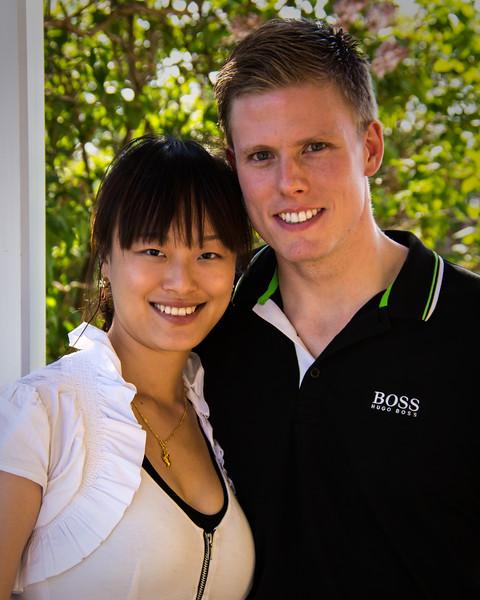 Portrait d'un jeune couple.