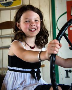 Portrait d'une fillette.