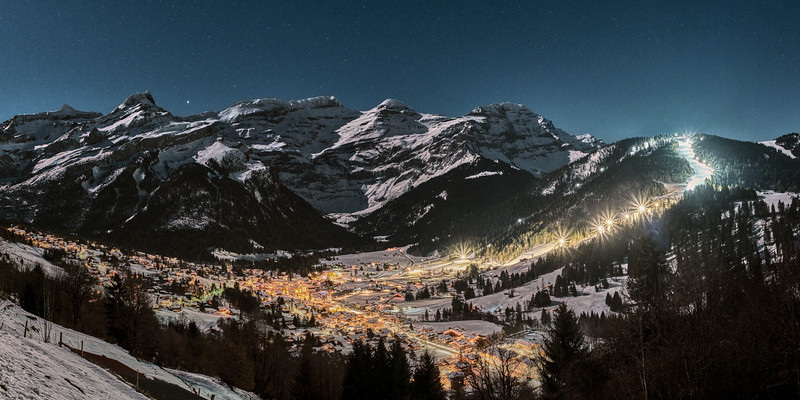 Night cession Diablerets