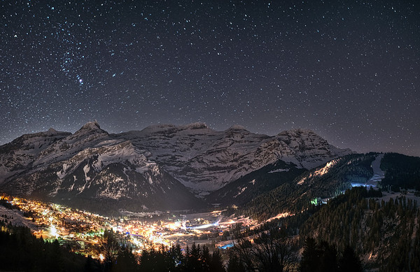 16 - Diablerets by night
