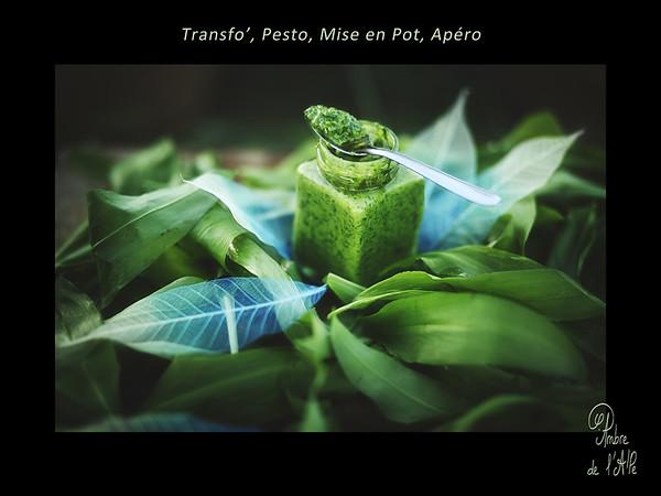 Transfo', Pesto, Mise en Pot, Apéro !