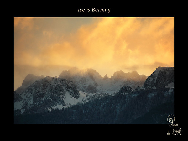 Ice is Burning
