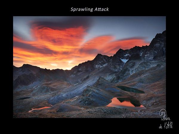 Sprawling Attack