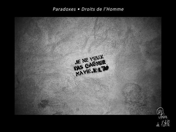 Paradoxes. • Droits de l'Homme