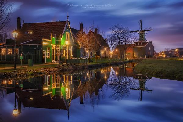 Night at Zaanse Schans