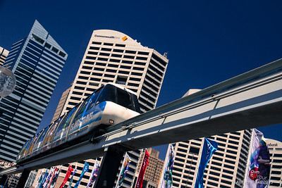 Let's ride a monorail