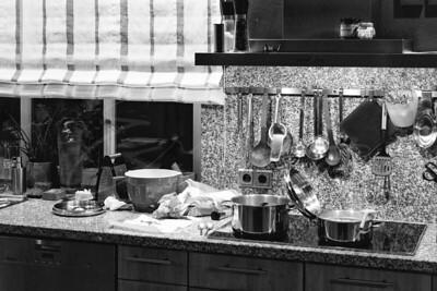 à la cuisine   in the kitchen