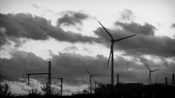 énergie éolienne et électricité   wind power and electricity