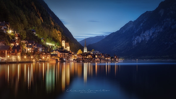 16/52 - Nightfall in Hallstatt