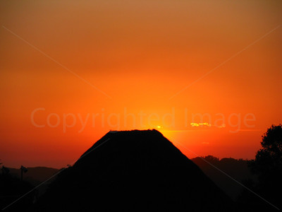 Sunrise on Stradbroke Island