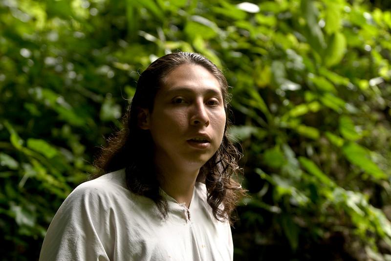 """- ChanKin, """" petit soleil """" dans la langue Maya des Indiens Lacandons."""