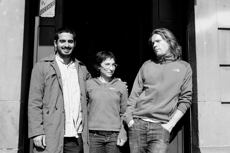 Yonathan, Kathleen et Matthieu