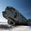 Crashed Douglas DC3, no injuries, 1973