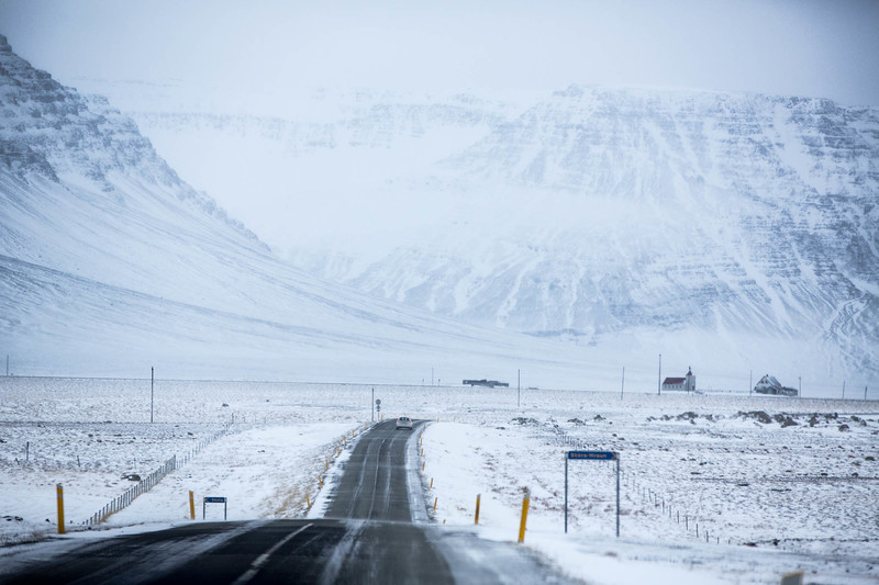On the roads of Iceland I