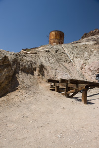 Abandoned mine in Death Valley, California, USA.