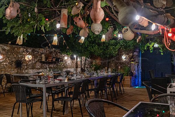 après le dîner - au restaurant SOFRA - spécialitiés du sud tunisien