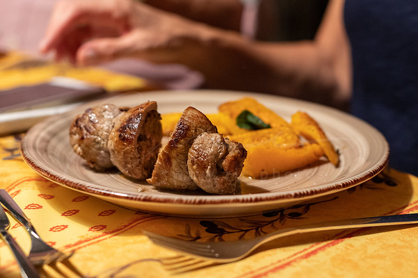 Involtini du veau avec de sauge et de citrouille | Involtini of veal with sage and pumpkin