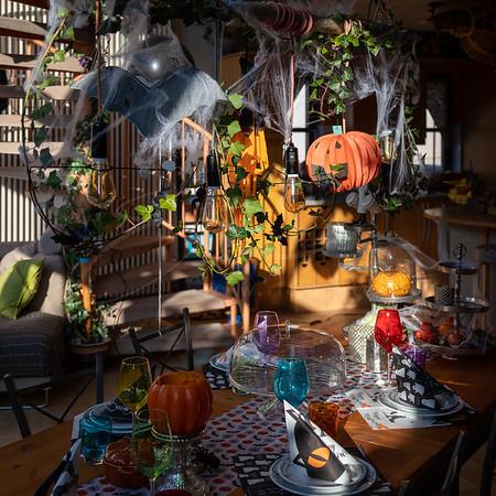 déjeuner à Halloween