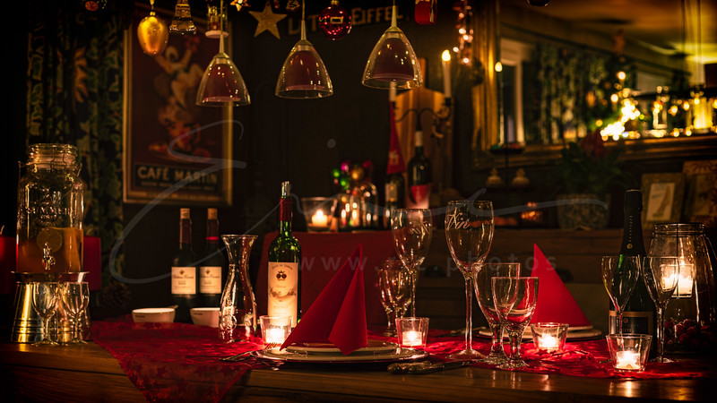 Diner aux chandelles | Candlelight dinner