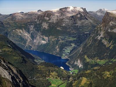 Geirangerfjord views 1