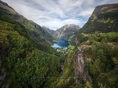 Geirangerfjord views 3