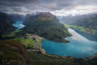 From the fjord to the top