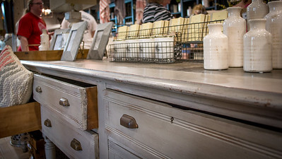 Rustic Dresser Display