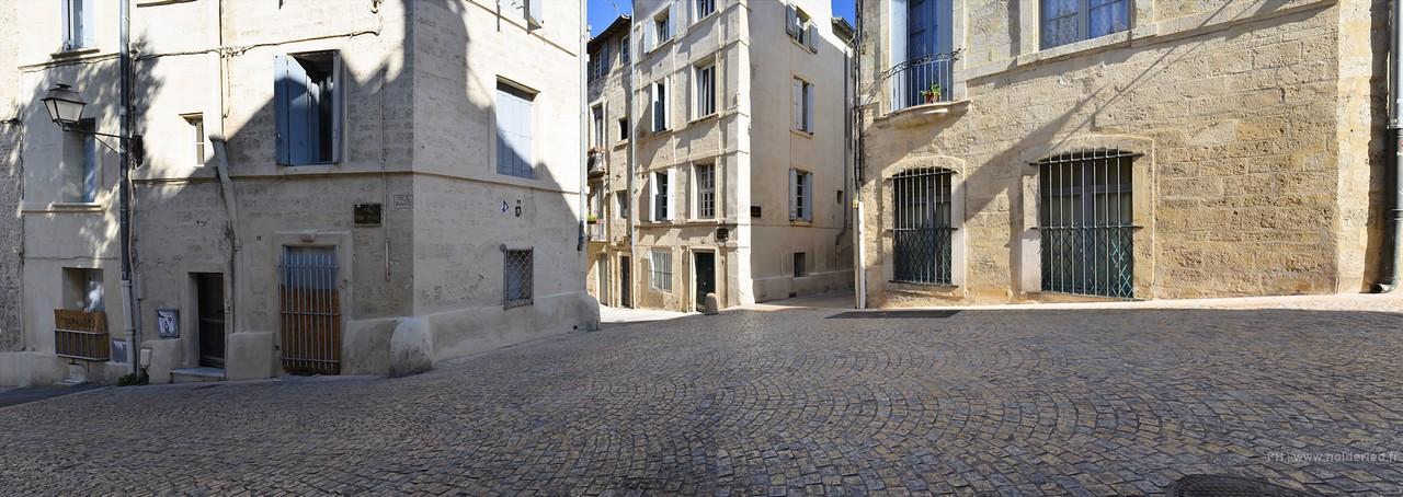 Les ruelles de Montpellier
