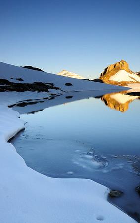 *Snow reflection*