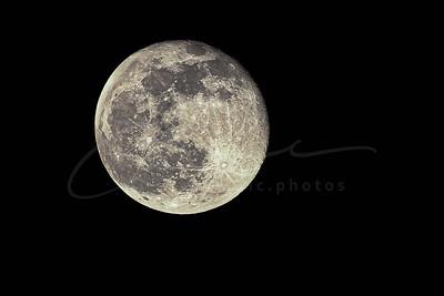 Hier, c'était la pleine lune | Yesterday was full moon