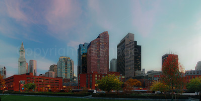 Evening in Boston