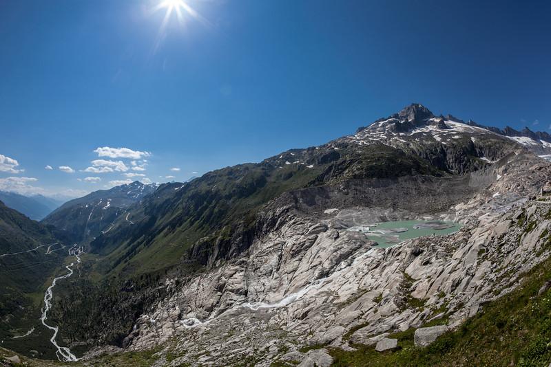 Glacier du Rhone, Switzerland été 2012