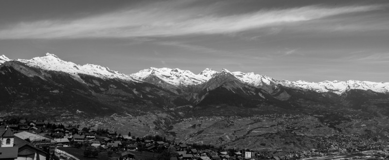 Haute-Nendaz, Switzerland - Printemps 2012