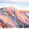 L'Aiguille de Bionnassay; depuis le refuge du Goûter (3800m)<br /> <br /> Le lendemain, départ pour le Mont Blanc (!) (Magnifique et touristique ..hm) <br /> Je rêve aussi toujours de monter sur cette aiguille effilée et esthétique.