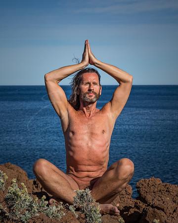 la méditation dans l'Esterel, Côte d'Azur