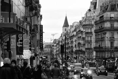 Magasinage de Noël à la Rue de Rennes | X-mas shopping at the Rue de Rennes