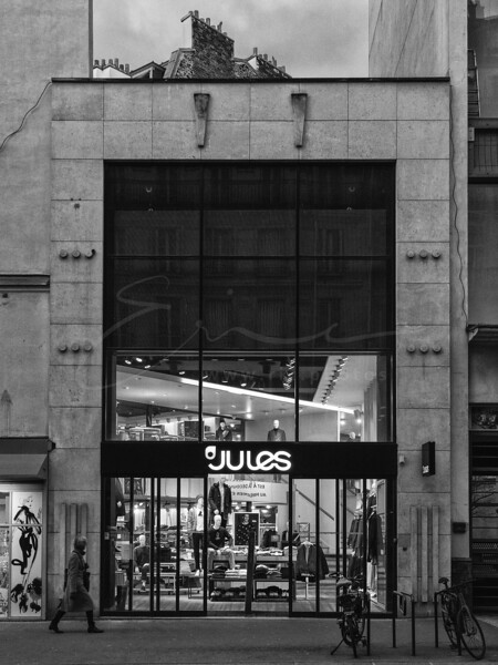 Le magasin JULES à la Rue de Rennes | The shop JULES
