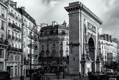 Porte-Saint-Denis au 10e