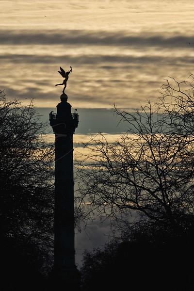 La colonne de Juillet sur la place de la Bastille