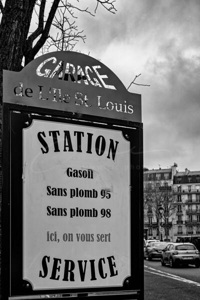 le garage de l'île Saint-Louis