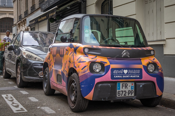 les voitures en ville   cars in the city