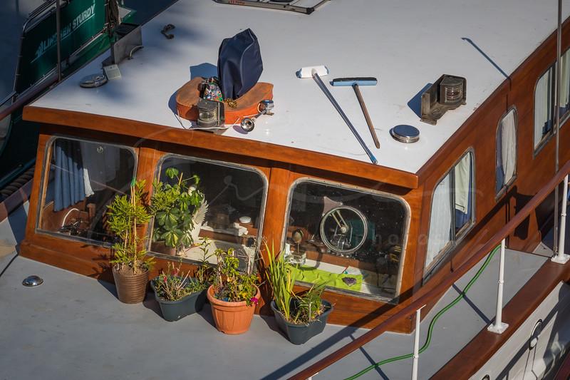 jardin urbain dans le Port de l'Arsenal | city garden in the harbor