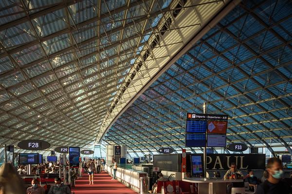aéroport CDG - Terminal 2F