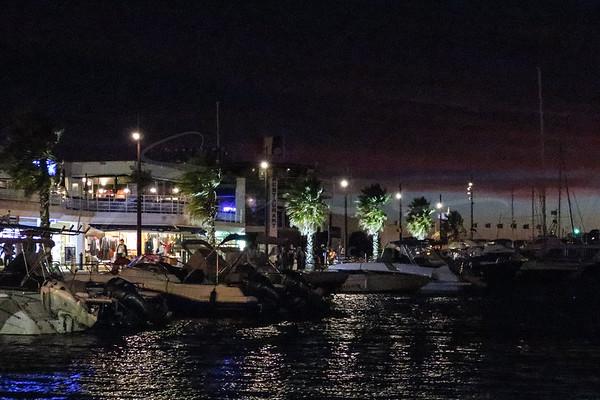 au port de Sainte-Maxime