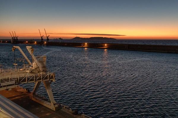 au port de Marseille