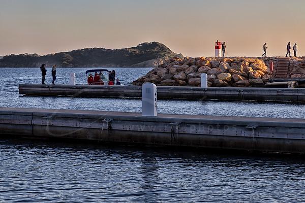 au port du Niel