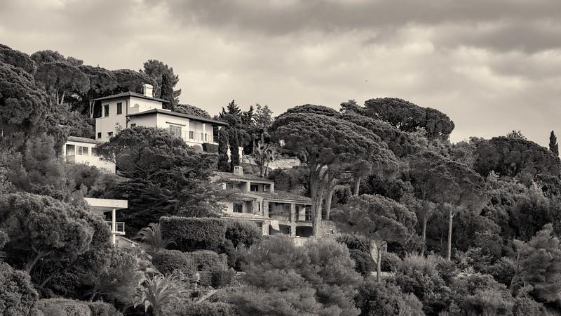 les terrasses de pierres et d'arbres | terraces from stones and trees