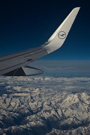 sur les Alpes | over the Alps