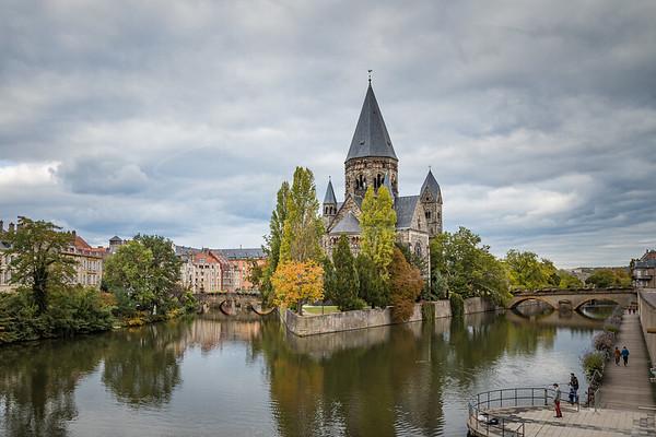 Temple protestant à Metz