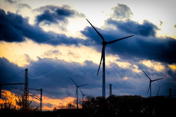 énergie éolienne et électricité | wind power and electricity